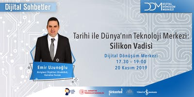 DDM Dijital Sohbetler: Silikon Vadisi ve Türkiye