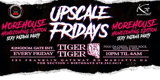 Upscale Fridays/Sexy Pajama Party (Morehouse Homecoming Edition)