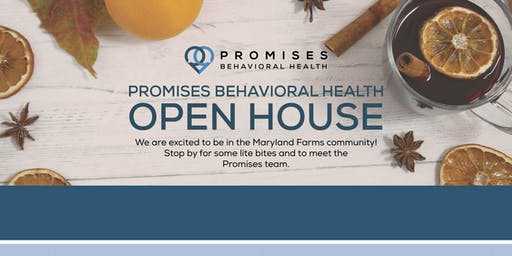 Promises Behavioral Health Open House