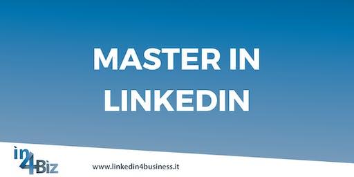 Master in LinkedIn I edizione 2019