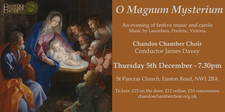 O Magnum Mysterium - Christmas Music from Ancient to Modern tickets