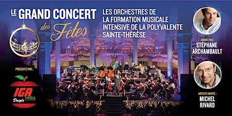 GRAND CONCERT DES FÊTES – Formation musicale de la Polyvalente Ste-Thérèse  tickets