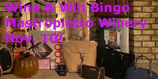 Wine & Win Bingo