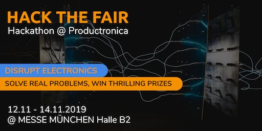 Hack the Fair HACKATHON @ PRODUCTRONICA