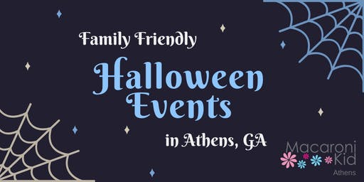 Family Friendly Halloween Events in Athens, GA