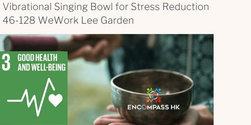 Vibrational Singing Bowl for Stress Reduction