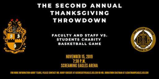2nd Annual Thanksgiving Throwdown