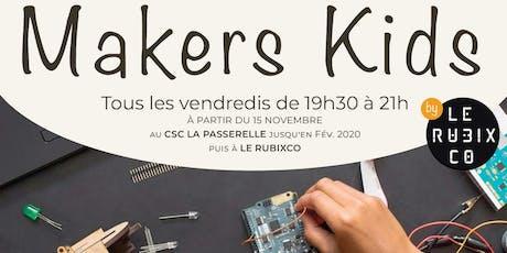 Atelier Makers Kids billets