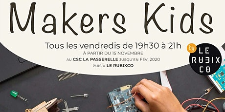 Atelier Makers Kids billets