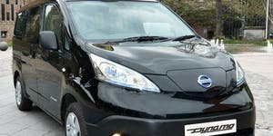 Nottingham Dynamo Electric Taxi Ride and Drive event