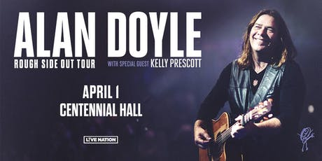 ALAN DOYLE - ROUGH SIDE OUT TOUR tickets
