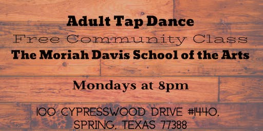 Adult Tap Class - Free Community Class
