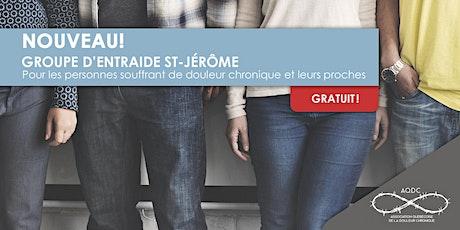 AQDC : Groupe d'entraide St-Jérôme billets