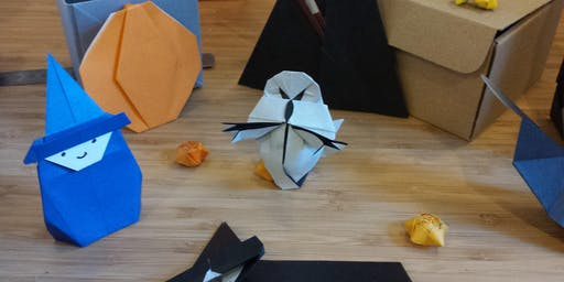 Special Halloween - Kids origami workshop