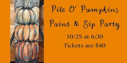 Paint & Sip Party at White Tail Run Winery