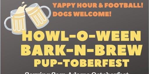 Howl-O-Ween Bark-N-Brew Pup-Toberfest