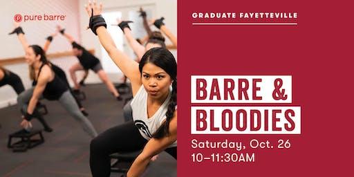 Barre & Bloodies | Pure Barre x Graduate Fayetteville