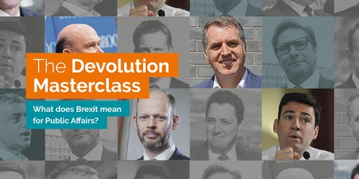 The Devolution Masterclass (Manchester)