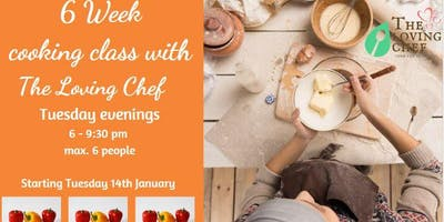 6 Week Evening Vegan Cooking Classes for Beginners