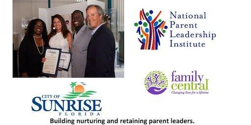 Parent Leadership Training Institute (PLTI) City of Sunrise