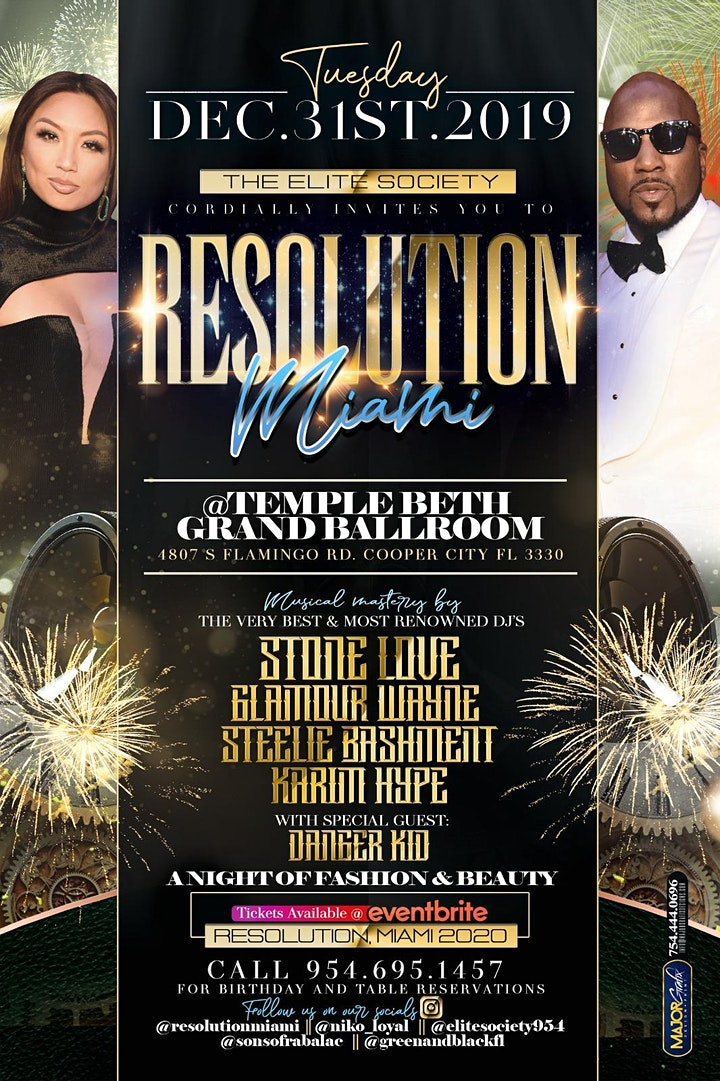 Resolution Miami- New Years Eve Gala image