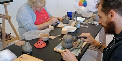 Winter Season: Playing with Clay
