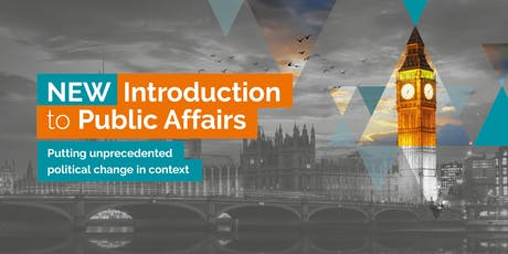 NEW Introduction to Public Affairs (London) tickets