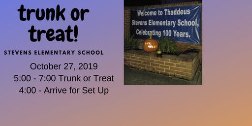 Trunk or Treat at Stevens Elementary - Chambersburg