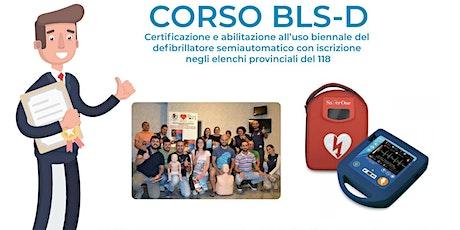 Corso di formazione - certificativo BLS-D per utilizzo del defibrillatore semi-automatico AED  biglietti