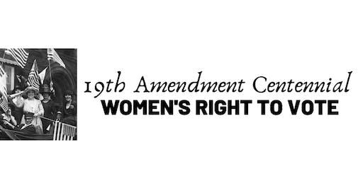 19th Amendment Centennial: Saving Florida