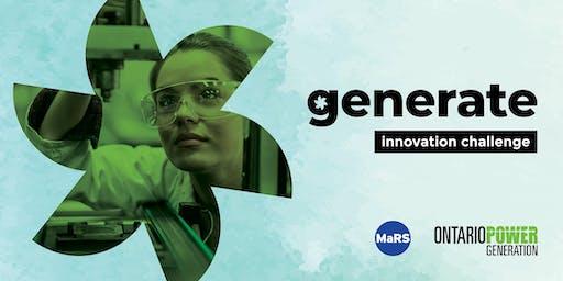 OPG Generate Innovation Challenge: Finalist Showcase