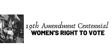 19th Amendment Centennial: Florida's Female Pioneers tickets