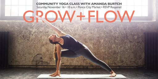 Grow + Flow Yoga at Ponce City Market
