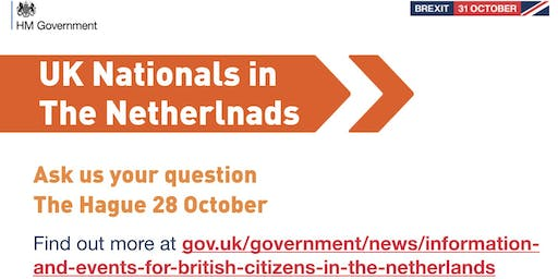 UK Nationals Outreach Event - The Hague Q&A