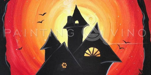 Spooky Lane Paint & Sip Event