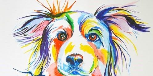 Acrylic Art Class - Playful Dog - Thus Nov 7