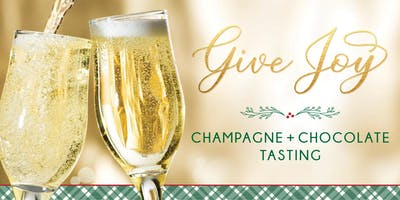 Give Joy! Champagne + Chocolate Tasting