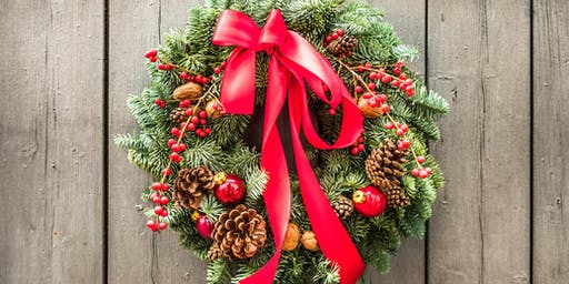 Wine & Design: Frasier Fir Wreaths