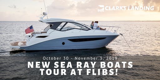 Private Tour of New Sea Ray Boats at FLIBS!