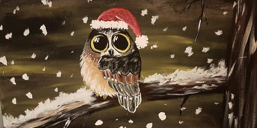 SOLD OUT!!!Paint Santa Baby Owl in Langley