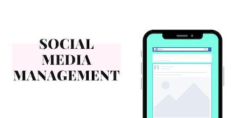 Social Media Management tickets