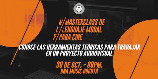 Masterclass de Lenguaje Modal para Cine