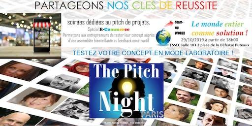 """Pitch night Paris spécial """"E-COMMERCE"""""""