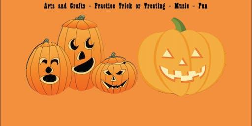 Sensory Friendly Halloween Event