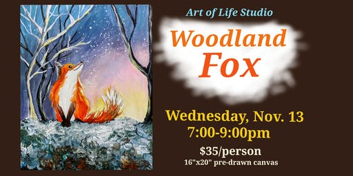 Paint Night: Woodland Fox