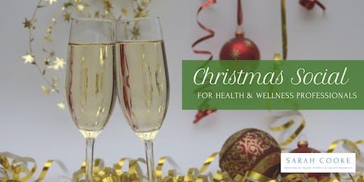 Christmas Social for Health & Wellness Professionals