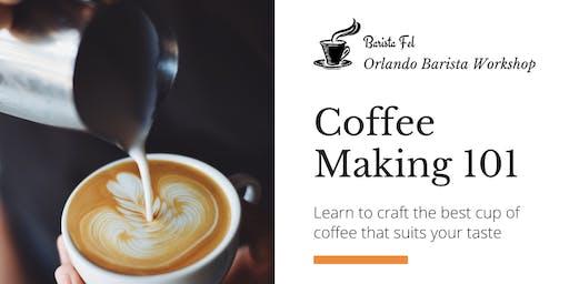 Barista Workshop / Coffee Making 101 / Level 1 / Spanish - Espanol