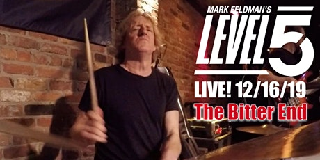 LEVEL5  | The Bitter End 12/16 |  Free CD w advance ticket purchase tickets