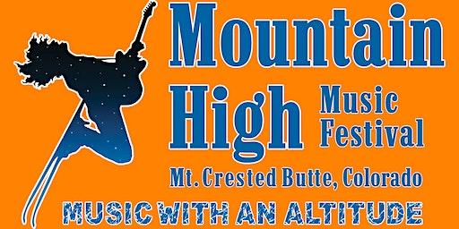 2020 Mountain High Music Festival