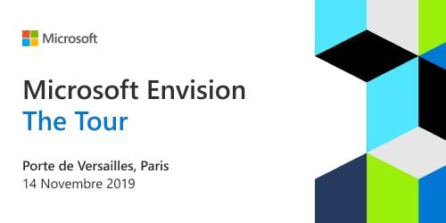 Microsoft Envision I The Tour Paris